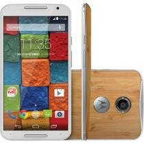 "Smartphone Motorola Moto X 32GB 4G - Câm. 13MP Tela 5.2"" Proc. Quad Core Android 4.4"