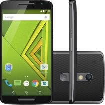"Smartphone Motorola Moto X Play 16GB Dual Chip 4G - Câm. 21MP + Selfie 5MP Tela 5.5"" Proc. Octa Core"