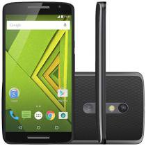 Smartphone Motorola Moto X Play 32GB Preto - Dual Chip 4G Câm. 21MP + Selfie 5MP Tela 5.5""