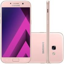Smartphone Samsung Galaxy A5 2017 64GB Rosa - Dual Chip 4G Câm. 16MP + Selfie 16MP Tela 5.2""