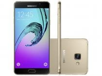 Smartphone Samsung Galaxy A7 2016 Duos 16GB - Dourado Dual Chip 4G Câm 13MP + Selfie 5MP