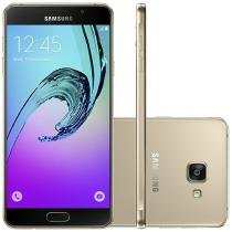 Smartphone Samsung Galaxy A7 2016 Duos 16GB - Dual Chip 4G Câm. 13MP + Selfie 5MP Tela 5.5""