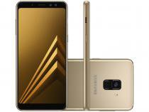 Smartphone Samsung Galaxy A8 64GB Dourado - Dual Chip 4G Câm. 16MP + Selfie 16MP + 8MP 5.6""