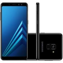 Smartphone Samsung Galaxy A8 64GB Preto - Dual Chip 4G Câm. 16MP + Selfie 16MP + 8MP 5.6""