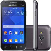 "Smartphone Samsung Galaxy Ace 4 Duos Dual Chip 3G - Android. 4.4 Câm. 5MP Tela 4"" Proc. Dual Core"