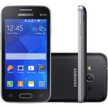 "Smartphone Samsung Galaxy Ace 4 Duos Dual Chip 3G - Câm. 5MP Tela 4"" Proc. Dual Core Android 4.4"