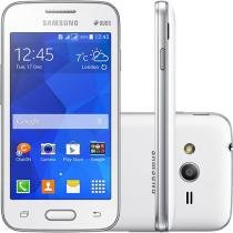 "Smartphone Samsung Galaxy Ace 4 Lite Duos 3G - Dual Chip Android. 4.4 Câm. 3MP Tela 4"" Wi-Fi"