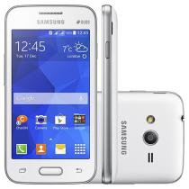 "Smartphone Samsung Galaxy Ace 4 Neo Duos 4GB - Dual Chip 3G Câm. 3MP 4"" Dual-Core Android 4.4"