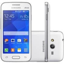 """Smartphone Samsung Galaxy Ace 4 Neo Duos Dual Chip - 3G Android 4.4 Câm. 3MP Tela 4"""" Proc. Dual Core"""