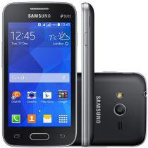 "Smartphone Samsung Galaxy Ace 4 Neo Duos Dual Chip - 3G Android 4.4 Câm. 3MP Tela 4"" Proc. Dual Core"