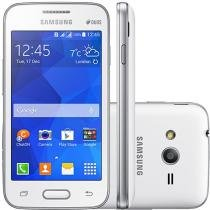 "Smartphone Samsung Galaxy Ace 4 Neo Duos Dual Chip - 3G C��m. 3MP Tela 4"" Proc. Dual Core Android 4.4"