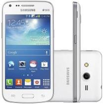 "Smartphone Samsung Galaxy Core Plus Dual Chip 3G - Android 4.3 Câm. 5MP Tela 4.3"" TV Digital"