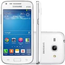 "Smartphone Samsung Galaxy Core Plus Dual Chip 3G - Câm 5MP Tela 4.3"" Dual Core Android 4.3 Desbl. Tim"
