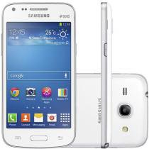 "Smartphone Samsung Galaxy Core Plus Dual Chip 3G - Câm 5MP Tela 4.3"" Dual Core Android 4.3 TV Digital"