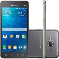 Smartphone Samsung Galaxy Gran Prime Duos TV 8GB - Cinza Dual Chip 3G Câm. 8MP + Selfie 5MP Tela 5""