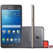 Smartphone Samsung Galaxy Gran Prime Duos TV 8GB - Dual Chip 3G Câm. 8MP + Selfie 5MP + Cartão 8GB