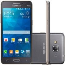 "Smartphone Samsung Galaxy Gran Prime Duos TV Dual - Chip 3G Android 4.4 Câm. 8MP Tela 5"" TV Digital"