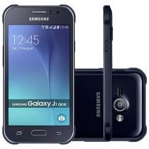 "Smartphone Samsung Galaxy J1 Ace Duos Dual Chip - 4G Câm. 5MP Tela 4.3"" Proc. Quad Core Android 5.1"