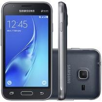 Smartphone Samsung Galaxy J1 Mini 8GB Dual Chip 3G - Câm 5MP + Selfie Tela 4.0 Pol Quad-Core Android