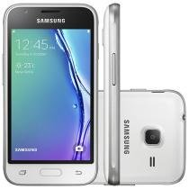 "Smartphone Samsung Galaxy J1 Mini 8GB Dual Chip - 3G Câm. 5MP Tela 4"" Proc. Quad-Core Android 5.1"