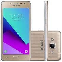 Smartphone Samsung Galaxy J2 Prime TV 16GB - Dourado Dual Chip 4G Câm. 8MP + Selfie 5MP Flash