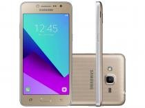 "Smartphone Samsung Galaxy J2 Prime TV 16GB Dourado - Dual Chip 4G Câm. 8MP + Selfie 5MP Tela 5"" Quad HD"