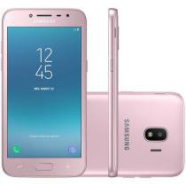Smartphone Samsung Galaxy J2 Pro 16GB Rosa - Dual Chip 4G Câm. 8MP + Selfie 5MP Flash Tela 5""