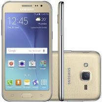 "Smartphone Samsung Galaxy J2 TV Duos 8GB - Dual Chip 4G Câm. 5MP Tela 4.7"" Proc. Quad Core"