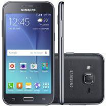 "Smartphone Samsung Galaxy J2 TV Duos 8GB Preto - Dual Chip 4G Câm 5MP Tela 4.7"" qHD Proc. Quad Core"