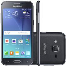 "Smartphone Samsung Galaxy J2 TV Duos 8GB Preto - Dual Chip 4G Câm. 5MP Tela 4.7"" qHD Quad Core"