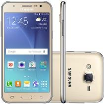 "Smartphone Samsung Galaxy J5 Duos 16GB Dual Chip - 4G Câm. 13MP + Selfie 5MP Flash Tela 5"" Quad Core"