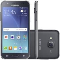 Smartphone Samsung Galaxy J5 Duos 16GB Preto - Dual Chip 4G Câm. 13MP + Selfie 5MP Flash Tela 5""