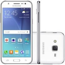 "Smartphone Samsung Galaxy J5 Duos Dual Chip 16GB - 4G Android 5.1 Câm. 13MP Tela 5"" Proc. Quad Core"