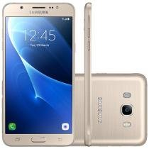Smartphone Samsung Galaxy J5 Metal 16GB Dourado - Dual Chip 4G Câm 13MP + Selfie 5MP Flash Tela 5,2""