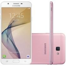 Smartphone Samsung Galaxy J5 Prime 32GB Rosa - Dual Chip 4G Câm. 13MP + Selfie 5MP Flash Tela 5""