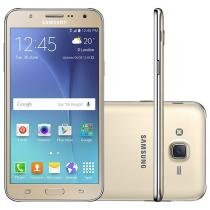 Smartphone Samsung Galaxy J7 Duos 16GB Dourado - Dual Chip 4G Câm 13MP + Selfie 5MP Flash Tela 5.5""