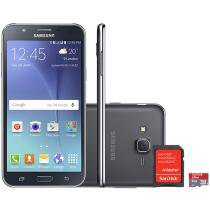 Smartphone Samsung Galaxy J7 Duos 16GB Dual Chip - 4G Câm 13MP + Selfie 5MP Flash + Cartão 8GB