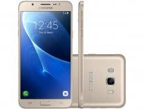 Smartphone Samsung Galaxy J7 Metal 16GB Dourado - Dual Chip 4G Câm 13MP + Selfie 5MP Flash Tela 5,5""