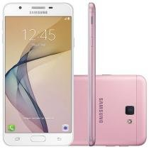Smartphone Samsung Galaxy J7 Prime 32GB Rosa - Dual Chip 4G Câm 13MP + Selfie 8MP Flash Tela 5.5""