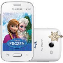 "Smartphone Samsung Galaxy Pocket 2 Duos Dual Chip - 3G Câm. 2MP Tela 3.3"" Single Core Desbl. Claro"