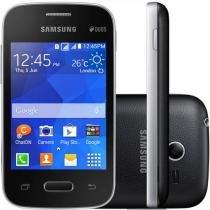 "Smartphone Samsung Galaxy Pocket 2 Duos Dual Chip - 3G Câm. 2MP Tela 3.3"" Single Core Desbl. Oi"