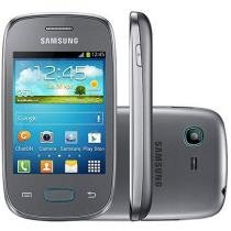 "Smartphone Samsung Galaxy Pocket Neo Duos - Dual Chip 3G Câm 2MP Tela 3"" Single Core Desbl Tim"