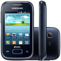 Smartphone Samsung Galaxy Pocket Plus Duos - Dual Chip 3G Android 4.0 Câm. 2MP Wi-Fi Desb. TIM