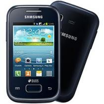 Smartphone Samsung Galaxy Pocket Plus Duos - Dual Chip 3G Android 4.0 Câmera 2MP Wi-Fi A-GPS