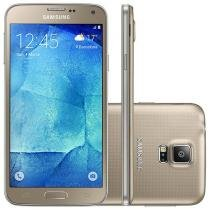 Smartphone Samsung Galaxy S5 New Edition DS 16GB - Dourado Dual Chip 4G Câm. 16MP + Selfie 5MP