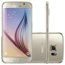 "Smartphone Samsung Galaxy S6 32GB 4G - Android 5.0 Câm. 16MP Tela 5.1"" Proc. Octa Core"