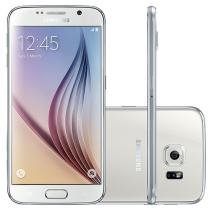 "Smartphone Samsung Galaxy S6 32GB 4G - Câm. 16MP + Selfie 5MP Tela 5.1"" Proc. Octa Core"