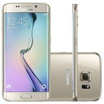 "Smartphone Samsung Galaxy S6 Edge 32GB 4G - Câm. 16MP + Selfie 5MP Tela 5.1"" Proc. Octa Core"