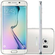 "Smartphone Samsung Galaxy S6 Edge 64GB 4G - Câm. 16MP + Selfie 5MP Tela 5.1"" Proc. Octa Core"