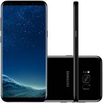 "Smartphone Samsung Galaxy S8+128GB Preto Dual Chip - 4G Câm. 12MP + Selfie 8MP Tela 6.2"" Quad HD+"